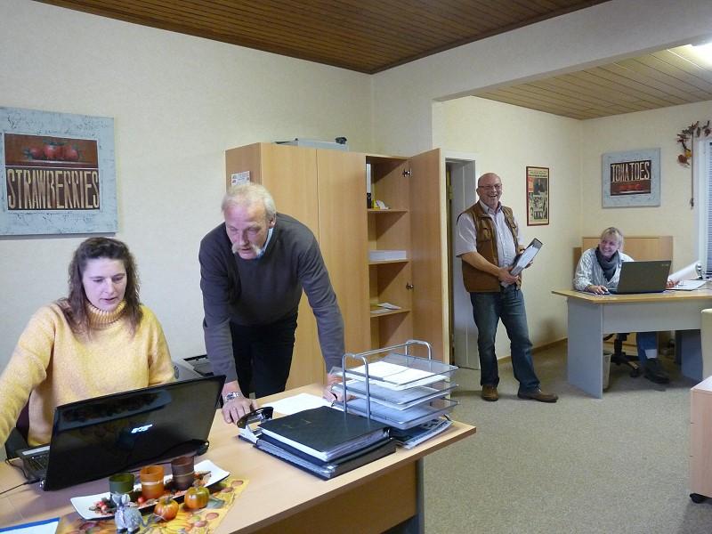 Bild des Teams und des Büros